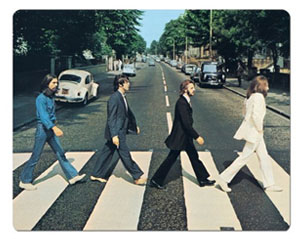 BEATLES abbey MOUSEPAD