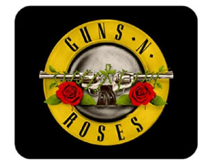 GUNS N ROSES bullet log MOUSEPAD