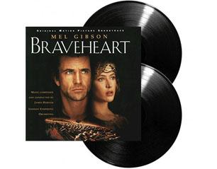 BRAVEHEART original motion picture soundtrack VINYL
