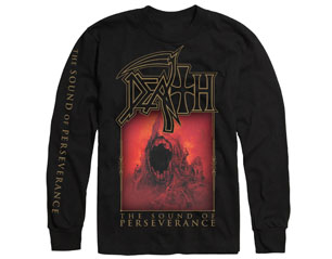 DEATH the sound of perseverance BLK LONGSLEEVE