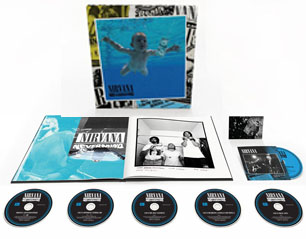 NIRVANA nevermind 30th 5CD + BD LIMITES BOX