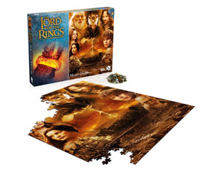 LORD OF THE RINGS mount doom 1000 piece PUZZLE