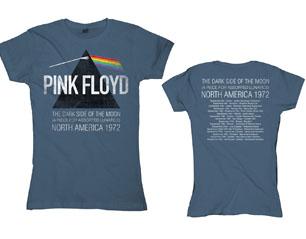 PINK FLOYD north america 1972 BLUE SKINNY