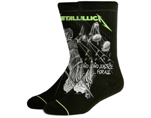METALLICA justice for all SOCKS