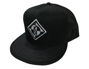 MACHINE HEAD diamond black trucker CAP