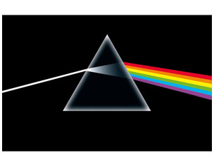 PINK FLOYD dark side of the moon HQ TEXTILE POSTER