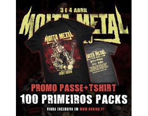 MOITA METAL FEST passe 2 dias + tshirt moita TICKET