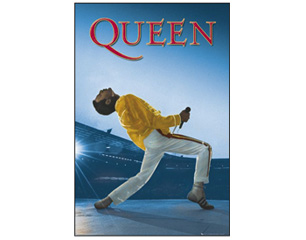 QUEEN wembley POSTER