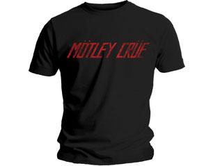 MOTLEY CRUE distressed logo TS
