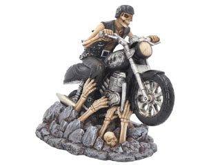 SKULLS ride out of hell 16 cm FIGURE