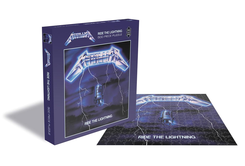 METALLICA ride the lightning 500 piece jigsaw PUZZLE