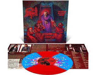 DEATH scream bloody gore reissue VINYL