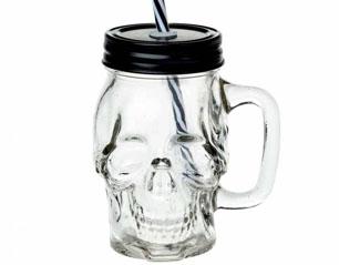 ALCHEMY skull AGJ1 GLASS MUG