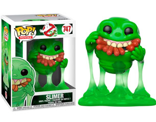 GHOSTBUSTERS slimer with hot dogs (747) 9cm POP FIGURE