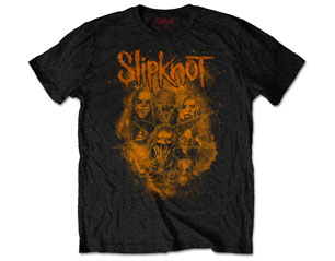 SLIPKNOT wanyk orange back print TS