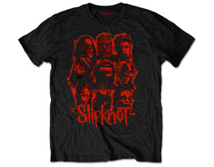 SLIPKNOT wanyk red patch TS