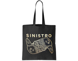 SINISTRO logo TOTE BAG