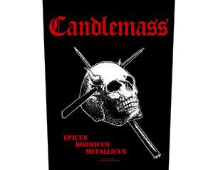 CANDLEMASS epicus doomicus metallicus BACKPATCH