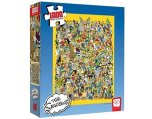 SIMPSONS casting 1000 piece PUZZLE
