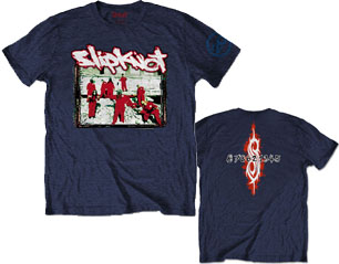 SLIPKNOT 20th ann red jump suits/navy blue TS