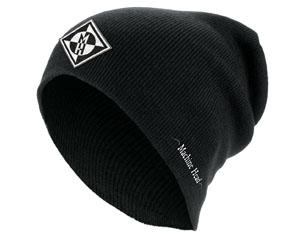 MACHINE HEAD diamond black slouch BEANIE