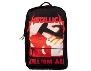 METALLICA kill em all classic rucksack BAG
