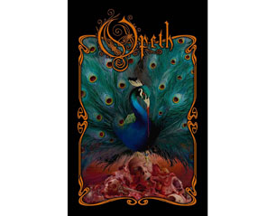 OPETH sorceress HQ TEXTILE POSTER