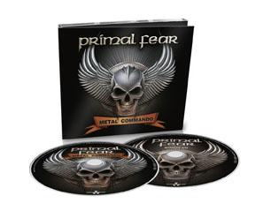 PRIMAL FEAR metal commando CD DIGIPAK