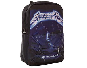 METALLICA ride the lightening classic rucksack BAG