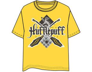 HARRY POTTER hufflepuff yellow TS