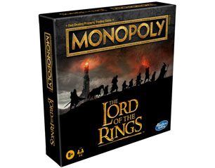 LORD OF THE RINGS board game ENGLISH MONOPOLY