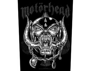 MOTORHEAD etched iron BACKPATCH