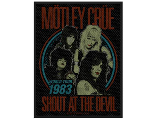 MOTLEY CRUE shout at the devil WPATCH