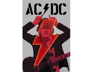 AC/DC pwr up angus HQ TEXTILE POSTER