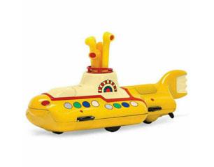 BEATLES yellow submarine die cast METAL FIGURE