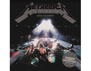 METALLICA black album 30th 2022 CALENDAR